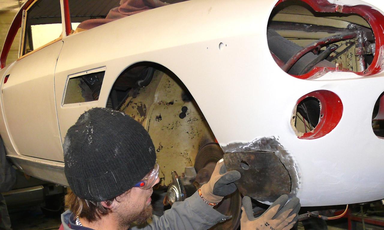 Karosseriebau Krüger Unfallinstandsetzung Oldtimer Restaurierung Karosserie